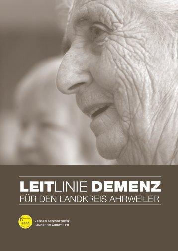 LEITLINIE DEMENZ - Landeszentrale für Gesundheitsförderung in ...