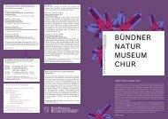 Ausgabe Nr. 44 Dezember 2012 - Bündner Naturmuseum
