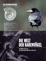DIE WELT DER RABENVÖGEL - Naturhistorisches Museum Wien
