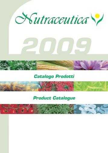 Catalogo Prodotti - Nutraceutica