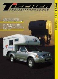 PREISLISTE 2006 - Reisemobil International