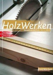 Gesamtverzeichnis Holzwerken 2011/2012 - Kurswerkstatt-Freiburg