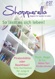 Shopperella-Magazin April 2011 - Sprachissimo