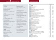 Übersicht Sonderausstattung inkl. Preisliste - Tabbert