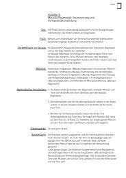 Aufgabe 3: Masoala Regenwald: Raumnutzung und ... - Zoo Zürich