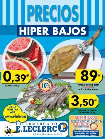 precios hiper bajos - E.Leclerc
