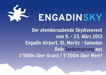 Flyer Engadinsky - Engadin Airport