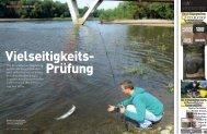 Die Mittelelbe bei Magdeburg hat für alle Angelmethoden und ...