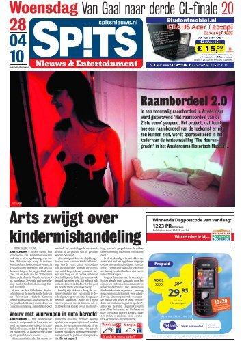 Arts zwijgt over kindermishandeling - Spits