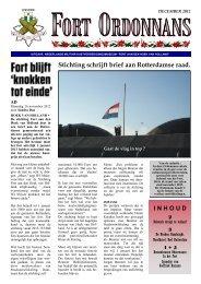 Ordonnans 50 – dec 2012 - Fort aan den Hoek van Holland