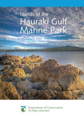 Hauraki Gulf Marine Park - New Zealand Customs Service