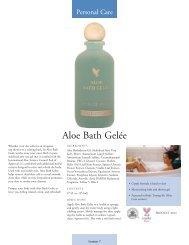 Aloe Bath Gelée - ALOElf - ALOE living forever