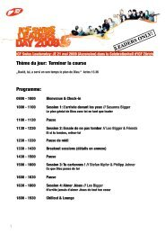 leadersday09 programme français - ICF Zürich
