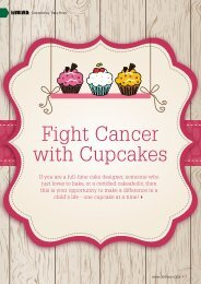 Fight Cancer with Cupcakes - DO IT NOW Magazine
