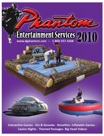 2012 catalog - Phantom Entertainment Services
