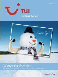 TUI - Schöne Ferien: Winter für Familien - Winter 2011 ... - Letenky.sk