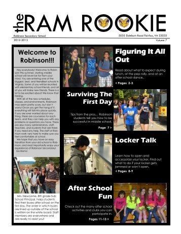Ram Rookie - Fairfax County Public Schools