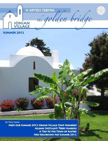 Summer 2012 - Ionian Village
