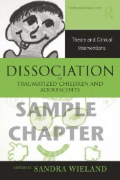 Dissociation in Traumatized Children and Adolescents ... - Routledge