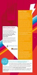 Meal Deal Offers News Flash Sign Up To Win - Renfrewshire Council