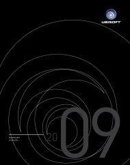rapport de gestion 01 - Ubisoft