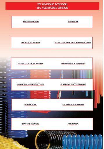 Tubi flessibili termoplastici e PTFE a bassa pressione - Universalflex