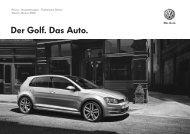 Der Golf. Das Auto. - Volkswagen Österreich