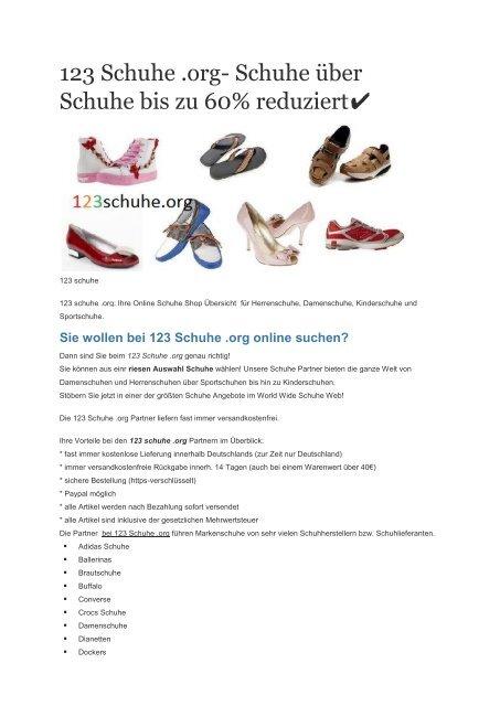 online store 8c5a5 d6810 123 Schuhe Online Shop