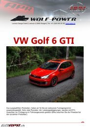 VW Golf 6 GTI - WOLF-POWER