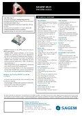 SAGEM HILO - Sagemcom - Page 2