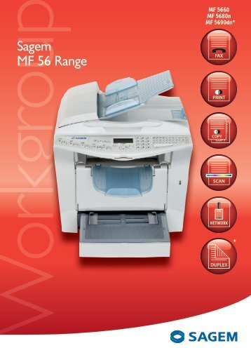 Sagem MF 56 Range