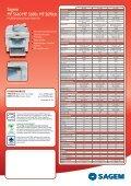 Sagem MF 56 Range - Page 2