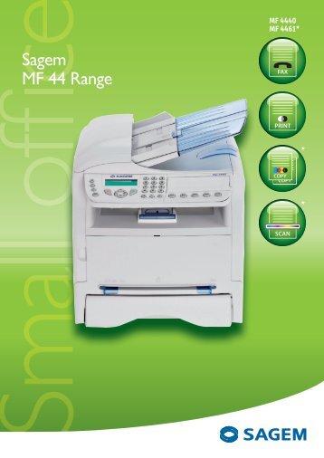 Sagem MF 44 Range
