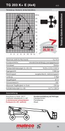 20,30 m TG 203 K+ E (4x4) - Mateco