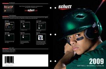 Softball/baSeball Catalog - Schutt Sports