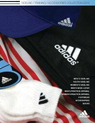 sideline / training / accessories collection 2010 - Le groupe SPORTS ...