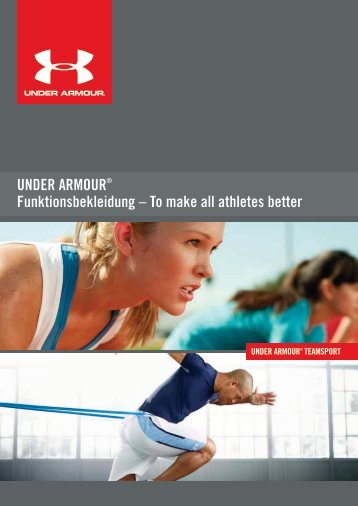under armour-flyer - M. Ehrlich Sport