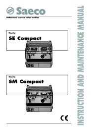 Saeco Aroma Compact SE 100 Espresso Machine