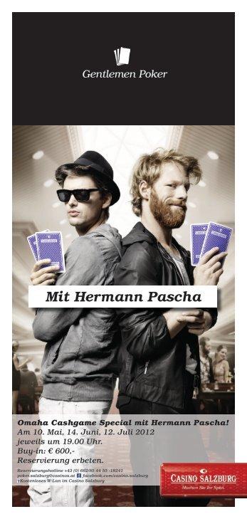 Mit Hermann Pascha