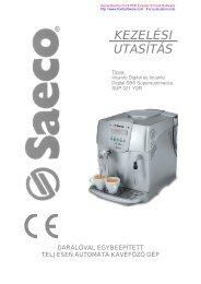 Saeco Incanto Digital kávégép
