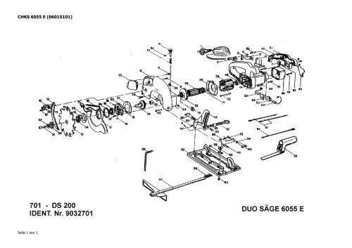 6055 e handkreissaege kress ersatzteile. Black Bedroom Furniture Sets. Home Design Ideas