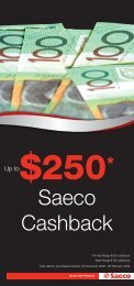 Saeco Cashback - Appliances Online