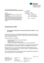 Unfallmedizinische Tagung 13. und 14. Juni 2013 - Deutsche ...