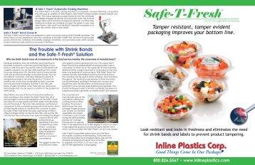 Safe T Fresh 174 Rectangle Inline Plastics Corp
