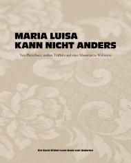 Maria LUisa Kann nicht andErs - Becker Joest Volk Verlag