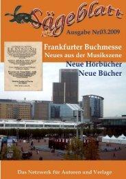 Sägeblatt: Ausgabe 3 - Schweitzerhaus Verlag