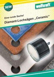 """Diamant-Lochsägen """"Ceramic"""""""