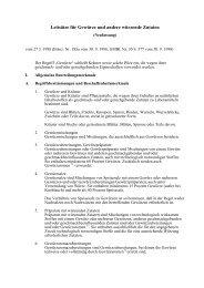 Leitsätze für Gewürze und andere würzende Zutaten - BMELV