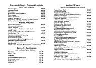 Kleine Antipasti - Mocca d'or