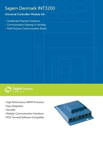 Sagem Denmark INT3200 - Cryptera